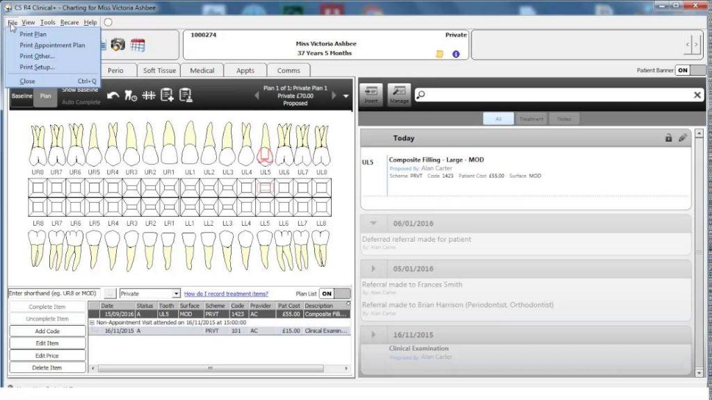 CS R4+ 2 Minute Training: Printing a treatment plan