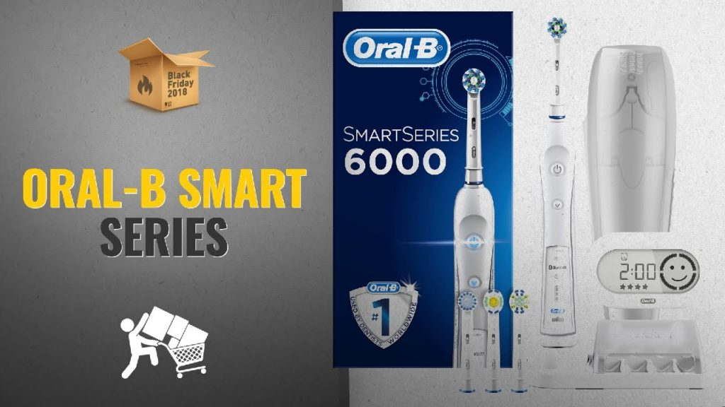 Oral-B Smart Series 6000 Cross-Action Electric Toothbrush Black Friday / Cyber Monday 2018