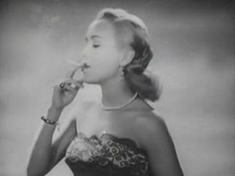 Unbelievable: doctors recommend smoking ! 60 years ago…