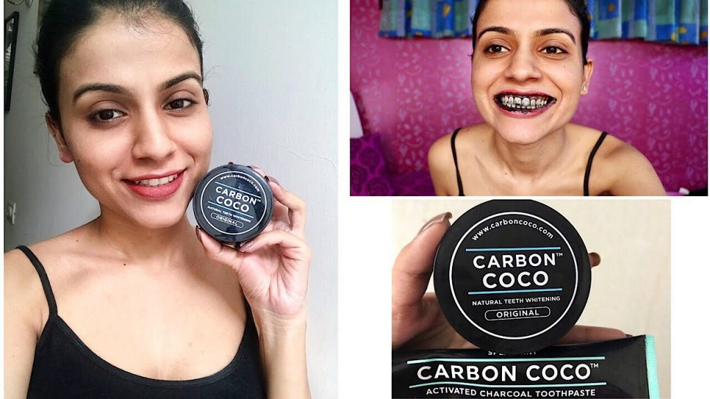 CARBON COCO TEETH WHITENING HONEST REVIEW | How to Whiten Your Teeth at Home | Nidhi Chaudhary