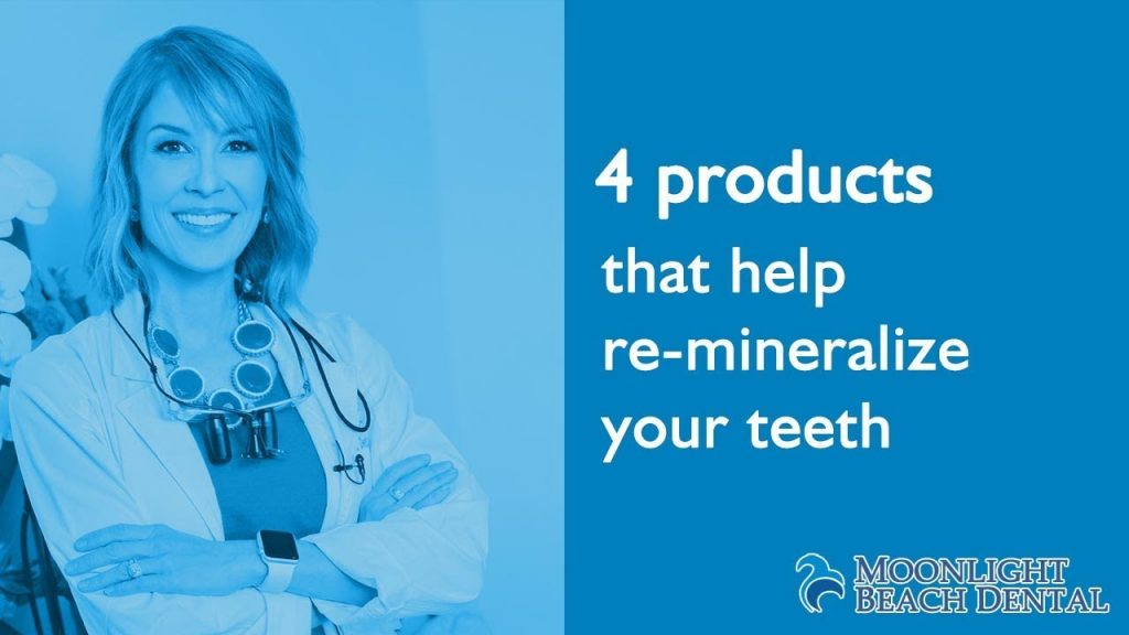 Products that help remineralize teeth & the alkalinization of saliva