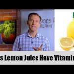 Is Store Bought Lemon Juice Rich in Vitamin C? Not Quite