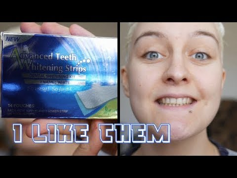 Advanced Teeth Whitening Strips  – EBAY Product / Jess'metics