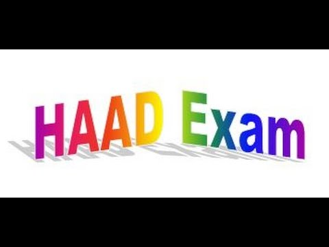 How to apply for HAAD exam -Step by Step Procedure