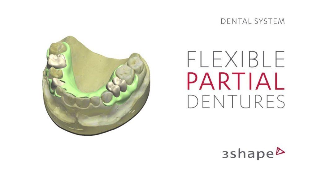 3Shape Dental System – How to design flexible partial dentures